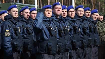 Национальная гвардия Украины отмечает свое 6-летие: мощное видео