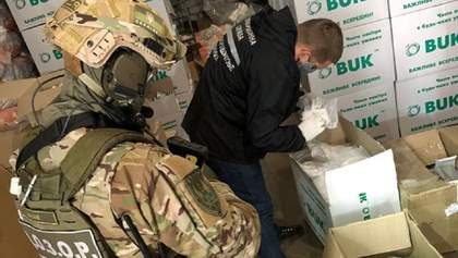 Експорт українських масок в Іспанію: слідчі розкрили схему – фото