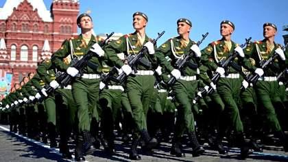 """Во время коронавируса россияне выгнали тысячи военных репетировать """"пабедабесный"""" парад – видео"""
