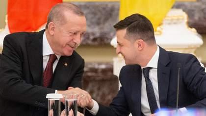 Зеленський телефоном поговорив із Ердоганом: теми розмови