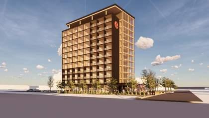 В Канаде построят 12-этажный деревянный отель