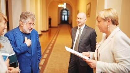 Згоріла хата: Коломойський виграв у Гонтаревої суд про захист честі