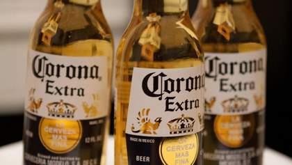 Пиво Corona тимчасово перестали варити через коронавірус