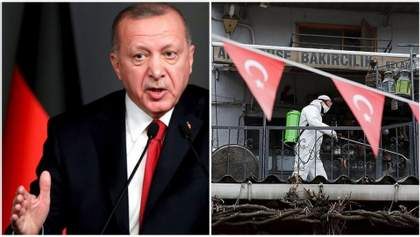 Ердоган закрив десятки міст і заборонив молодшим за 20 років туркам виходити з дому