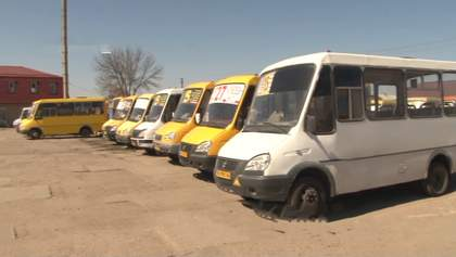 У Кропивницькому водії маршруток відмовились возити пасажирів: яка причина