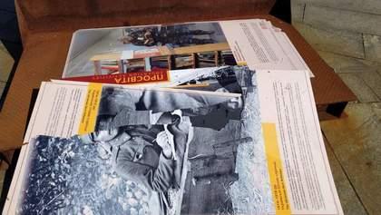 Історичну виставку у  Києві здуло вітром, вандалізму не було, – поліція
