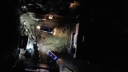 В Москве сгорел пансионат для пожилых людей, есть жертвы: видео