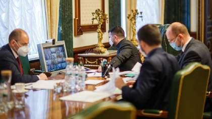 В Офісі Президента обговорювали введення надзвичайного стану