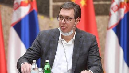 Син президента Сербії потрапив до лікарні з коронавірусом
