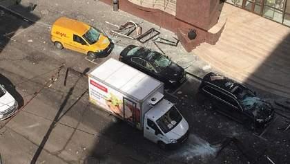 В центре Москвы прогремел взрыв у посольства Словакии: видео