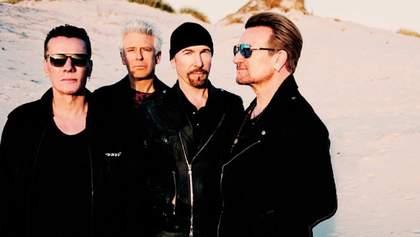 Рок-гурт U2 пожертвував 10 мільйонів євро на потреби ірландських медиків