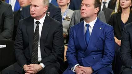 На побегушках у Путина: почему Кремль отправил Медведева на скамейку запасных
