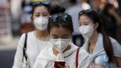 У Південній Кореї повторно захворіла на коронавірус майже сотня людей