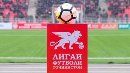 Украинский телеканал попал в скандал из-за показа футбольных матчей Таджикистана