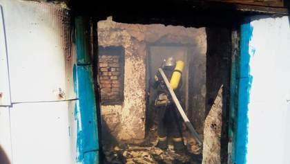 Жуткий пожар на Кировоградщине: трое детей сгорели заживо