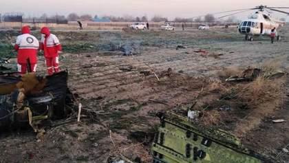 Катастрофа МАУ біля Тегерана: розшифровку чорних скриньок тимчасово відклали