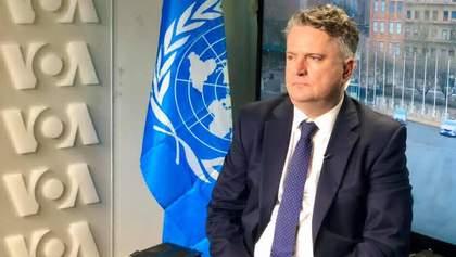 Это малореалистично, – посол Украины в ООН о миротворческой миссии на Донбассе