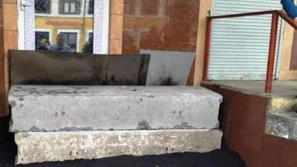 В Москве забетонировали кафе за нарушение карантина: фото