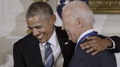 Президентські вибори у США: Обама підтримав Байдена