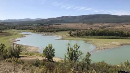 У Криму продовжує зникати вода: які запаси лишилися у водосховищах півострова