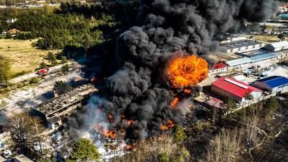 У Польщі стався вибух на хімзаводі: з'явилися моторошні фото та відео