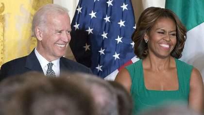 Байден хоче, щоб після перемоги на виборах віцепрезиденткою США була дружина Обами