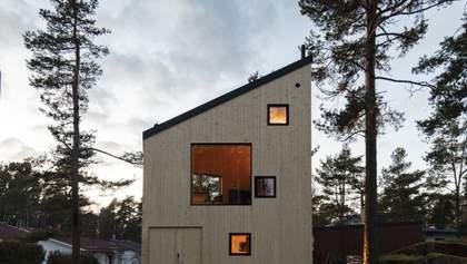 Здесь живет искусство: фото здания необычной формы среди финского леса – фото