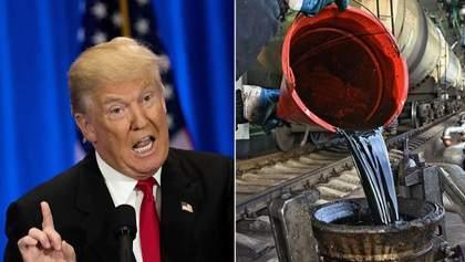 После угроз Трампа Ирану цена нефти подорожала почти на четверть