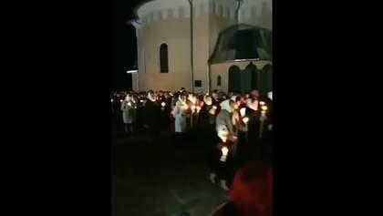 Настоятеля храму УПЦ МП на Буковині оштрафували за порушення карантину на Великдень: відео