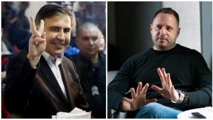Если не в Кабмин, то в Офис Президента: может ли Саакашвили стать заместителем Ермака
