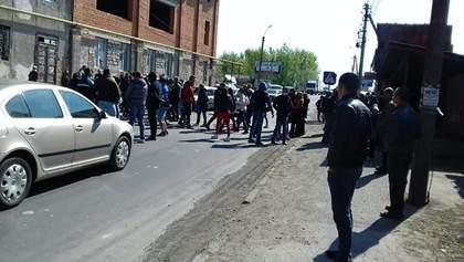 Предприниматели перекрывали трассу на Закарпатье с требованием открыть рынки: видео