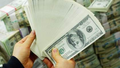 Держборг України за місяць знизився на 3 мільярди доларів