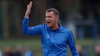 Український клуб несподівано покидає відомий тренер