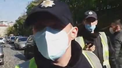 Полиция напала на журналиста Кутепова на митинге возле Кабмина: начали расследование