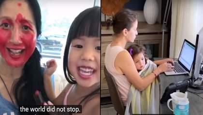 Справжні супергерої: мережу підкорило зворушливе відео про матерів під час пандемії
