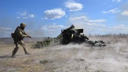 Артилеристи тренуються стріляти та оборонятися за тактикою НАТО: фото