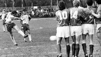 28 років тому збірна України з футболу зіграла свій перший матч в історії: ретро відео