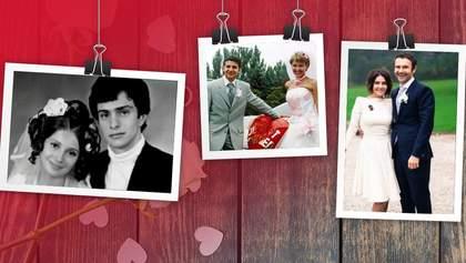 Весілля українських політиків: архівні фото