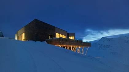 В Альпах побудували два вишукані ресторани на висоті 2340 метрів – фото