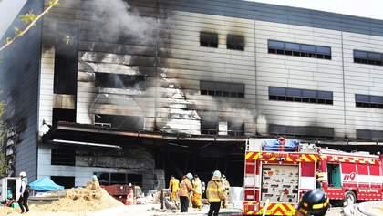 У Південній Кореї трапилася масштабна пожежа, загинули 38 людей: фото