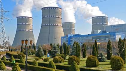 На Рівненській АЕС відключили енергоблок: загальна потужність блоків Енергоатому суттєво впала