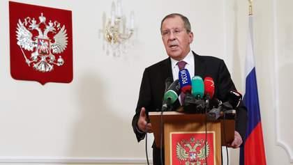 Лавров о российском оружии на Донбассе: наше оружие гуляет по всему миру достаточно свободно