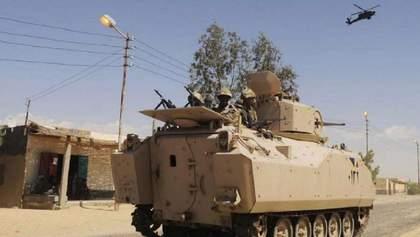В Египте произошел теракт: погибли и пострадали военные