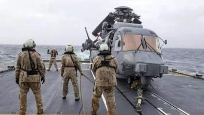 Падіння гелікоптера НАТО в Іонічному морі: пошуки припинили, екіпаж оголосили мертвим