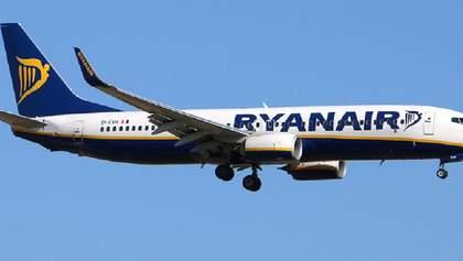 Ryanair очікує вийти на докризовий рівень лише у 2022 році