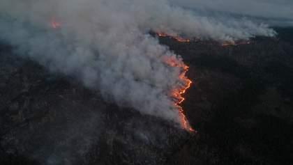 У розслідуванні пожеж у Чорнобилі допоможуть супутникові знімки