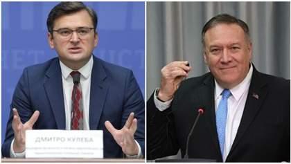 Кулеба запропонував Помпео перенести американські підприємства в Україну