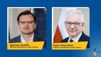 Кулеба з очільником польського МЗС обговорили приїзд до Польщі українських заробітчан