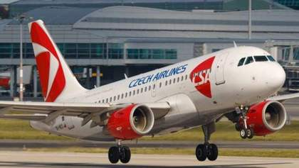 Czech Airlines відновить рейси в Україну у найближчі тижні