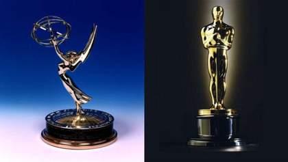 Нові правила для Оскара: номінанти премії не зможуть претендувати на нагороди Еммі